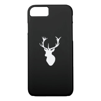 White Stag Head iPhone 8/7 Case