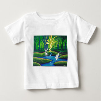 White Stag, Tree of Life Baby T-Shirt