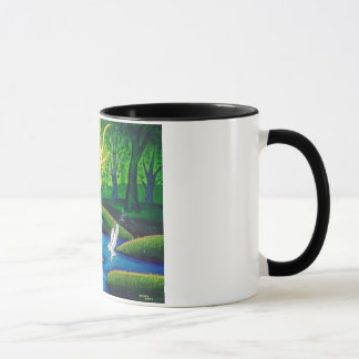 White Stag, Tree of Life Mug
