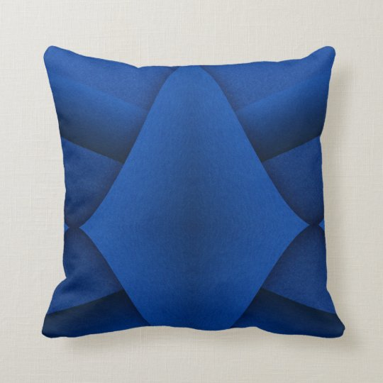 White star and red label pillow
