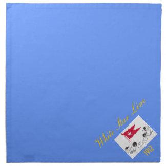 White Star Line - Dinner Napkins (Blue)