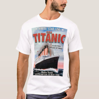 White Star Line RMS Titanic - The Ship Of Dreams T-Shirt