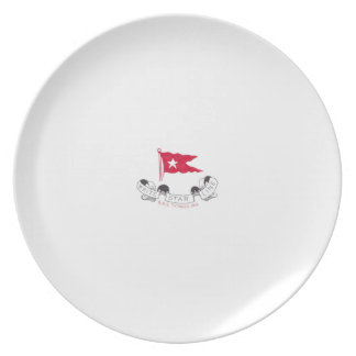 White Star Line - Third Class Dining Plate