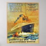 White Star Line Titanic & Olympic ad