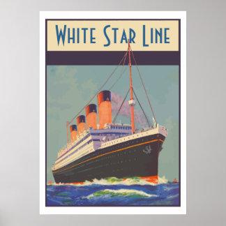 White Star Line (Titanic) Poster
