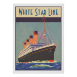 White Star Line (Titanic) Posters