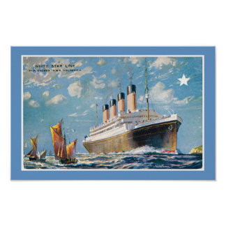 White Star Line's Olympic Poster