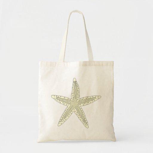 White Starfish Bag