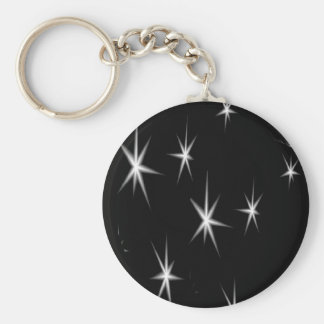 White stars keychain