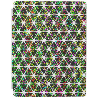 White Stars Pattern iPad Cover