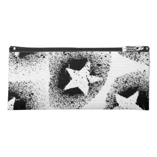White Stars Pencil Case