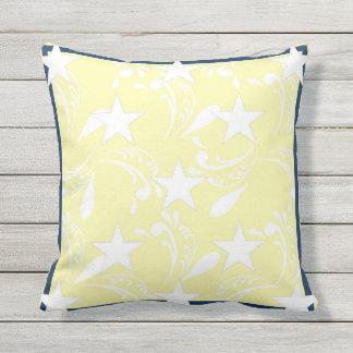 White Stars Pillow