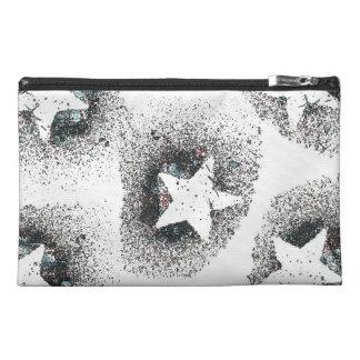 White Stars Travel Accessory Bag