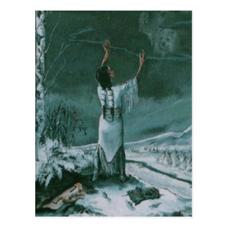 White Star's Vision By Singletree- Postcard