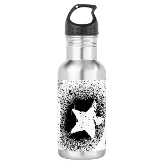 White Stars Water Bottle