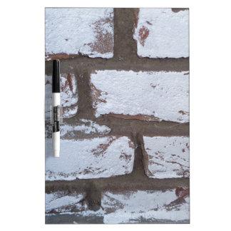 White Stone Wall Dry-Erase Whiteboard