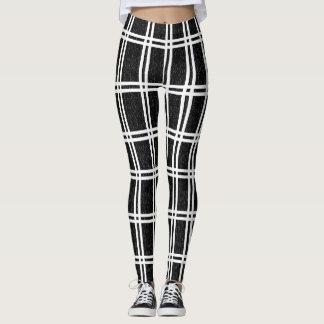 White stripe legging