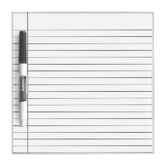 WHITE STRIPED LINES, WHITE LINE WRITING NOTE BOARD DRY ERASE BOARD