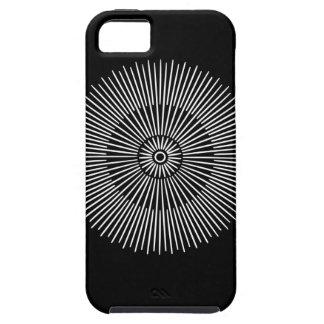 White Sun iPhone Case full