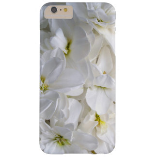 White Sunlit Flowers Barely There iPhone 6 Plus Case