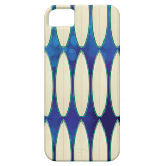white surfboard pattern iPhone 5 case