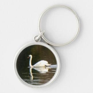 White Swan Premium Keychain