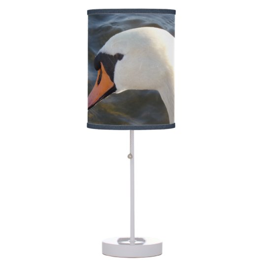 White Swan Table Lamp