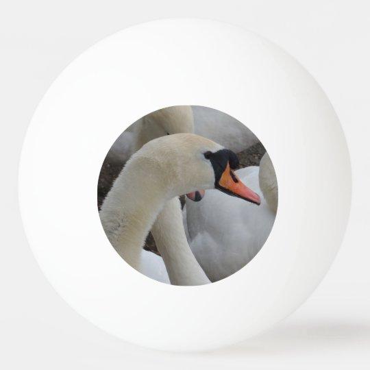White Swan Three Star Ping Pong Ball