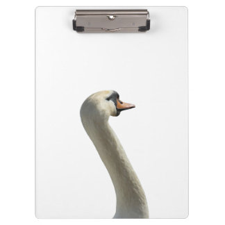 White Swans Clipboard