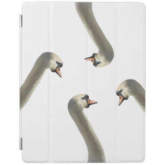 White Swans iPad Smart Cover