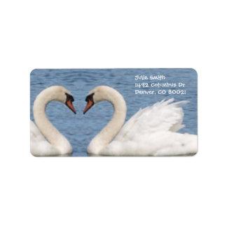 White Swans Label