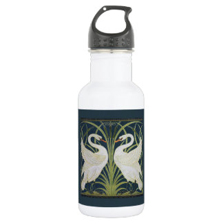White Swans Nouveau Blue 532 Ml Water Bottle