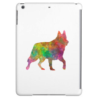 White Swiss Shepherd Dog in watercolor Case For iPad Air