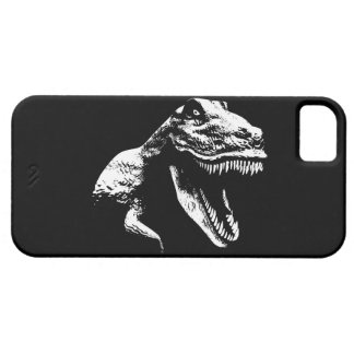 White T Rex Case For The iPhone 5