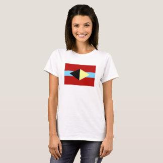 White t-shirt with Albuquerque symbol
