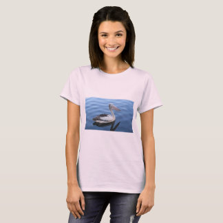 White T-Shirt with swan on front