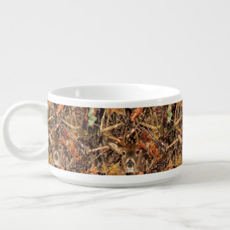 White Tail Deer Head Fall Energy Spirited on a Bowl