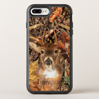 White Tail Deer Head Fall Energy Spirited on a OtterBox Symmetry iPhone 8 Plus/7 Plus Case