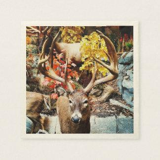 White Tail Deer Paper Napkins