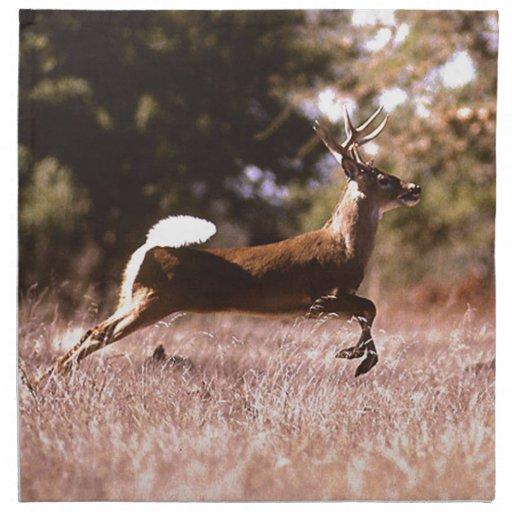 White-Tail Deer Running Napkins