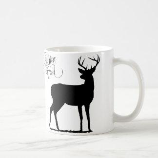 white tail mug