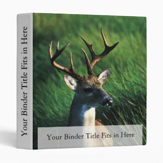 White-tailed Buck 3 Ring Binders