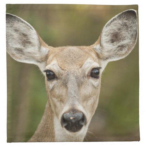 White Tailed Deer Cloth Napkins
