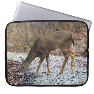 White-Tailed Deer Neoprene Laptop Sleeve