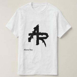 White tee-shirt + logo Alone Ray T-Shirt