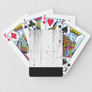 White Texture Poker Deck