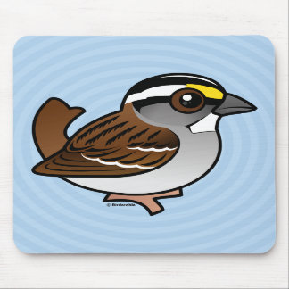 White-throated Sparrow Mouse Pads