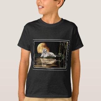 WHITE TIGER Art Design T-Shirt