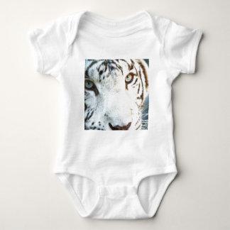 White Tiger Baby Bodysuit