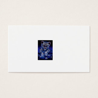 white tiger business card